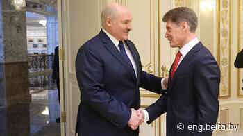 13:02 Lukashenko invited to visit Russia's Vladivostok Society - Belarus News (BelTA)