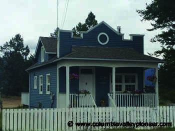 Invermere Telephone Office - Columbia Valley Pioneer
