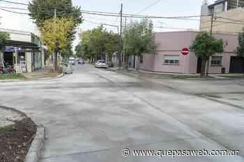 Renuevan más de 5 mil metros cuadrados de pavimento en Boulogne - Que Pasa Web