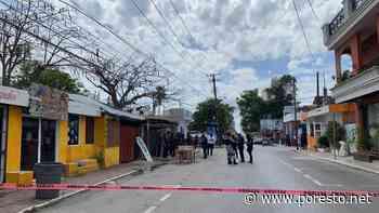 Reportan balacera en la zona centro de Playa del Carmen - PorEsto
