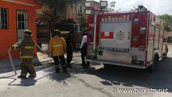 Vecina provoca incendio de una palapa en fraccionamiento de Playa del Carmen - PorEsto