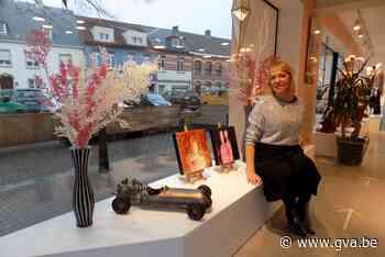 Kunstwerken fleuren weer etalages op (Vosselaar) - Gazet van Antwerpen Mobile - Gazet van Antwerpen