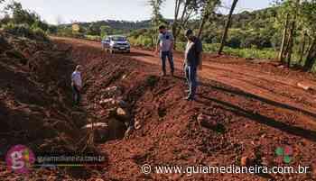 Administração Municipal de Missal fará pavimentação poliédrica em trecho alargado em Jacutinga sentido Santa Paula - Guia Medianeira