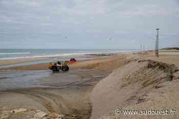 Lacanau : travaux de réensablement des plages pendant quinze jours - Sud Ouest