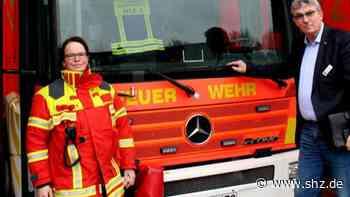 Eigener Löschwagen kaputt: Feuerwehr Bordesholm ist einsatzbereit mit Leihfahrzeug aus Köln | shz.de - shz.de
