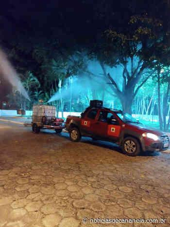 Prefeitura Municipal de Cananeia realiza etapa da Operação Desinfecção contra o novo Corofnavírus - Noticia de Cananéia