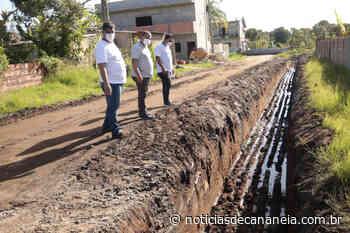 Prefeitura Municipal de Cananeia realiza serviços de drenagem, manutenção e limpeza de vias - Noticia de Cananéia