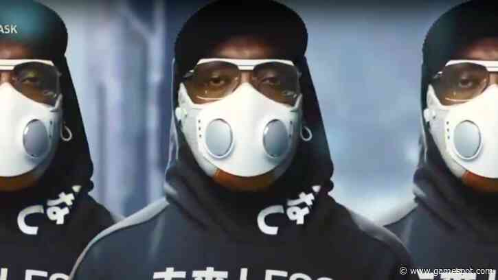 Will.i.am Launches Smart Mask Which Looks Like It's From A Cyberpunk Anime