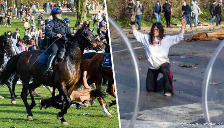 """Actrice (42) die door politiepaard werd omvergereden op La Boum: """"Het was géén ongeval. Die ruiter wilde me intimideren"""""""