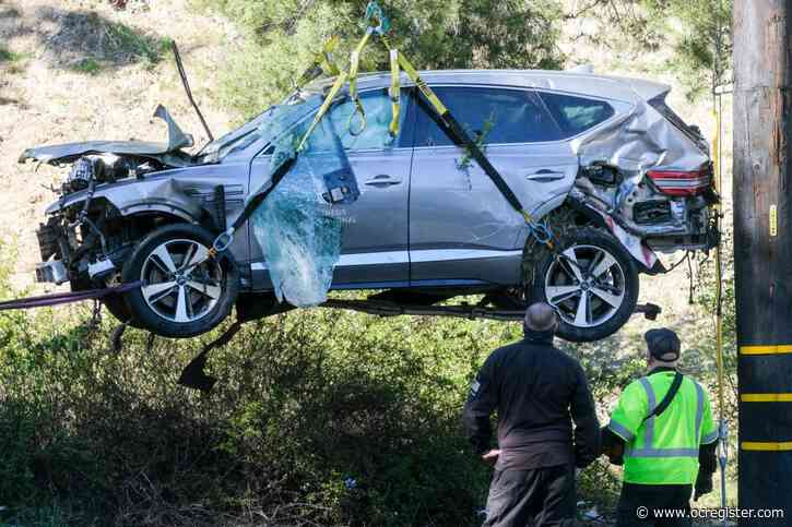 Sheriff speaking today about Tiger Woods crash investigation; media report says speed was cause