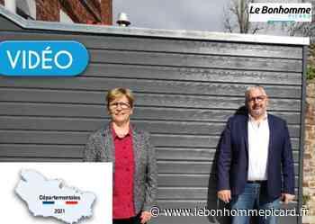 VIDEO Canton de Roye : Josiane Herouart et Wilfried Larcher candidats - Le Bonhomme Picard
