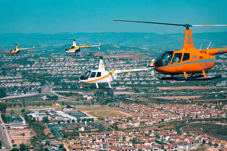 The Rogue Aviation experience takes you to new heights in Orange County