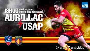 DIRECT rugby : vivez le match Aurillac - USAP - France Bleu