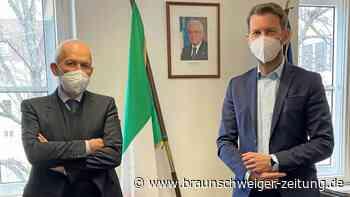 Antrittsbesuch beim italienischen Konsularagenten in Wolfsburg
