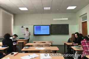 """Schoolchildren studying in Petrozavodsk took part in the Swedish version of the popular television game """"100 to one"""" - India Education Diary"""