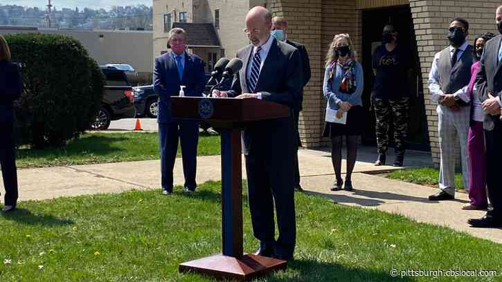 COVID-19 In Pennsylvania: Gov. Tom Wolf Visits McKeesport Clinic To Discuss Equity In Vaccine Rollout