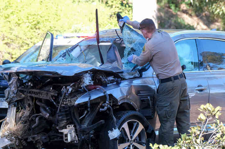 Speeding, failure to handle curve caused Tiger Woods' crash in Rolling Hills Estates, sheriff says
