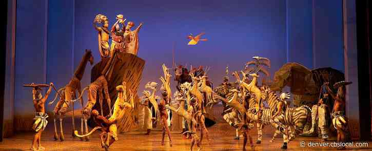 DCPA Broadway Plans To Reopen In December With Disney's 'The Lion King'