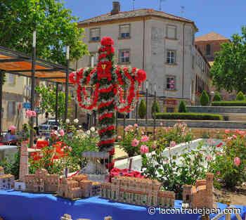 Las Cruces de Mayo de Linares también se adaptan al Covid - Lacontradejaen