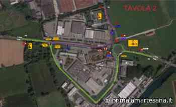 Lavori sulla Paullese: strada chiusa per due notti a Settala - Prima la Martesana