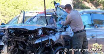 Tiger Woods Car Crash Latest Updates: Golfer Was Speeding 40 MPH Above Limit