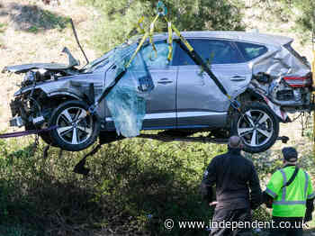 Tiger Woods crash caused by excessive speed, police say he crashed into tree at 75 mph