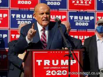 Giuliani asks judge to toss Dominion's $1.3 billion defamation suit