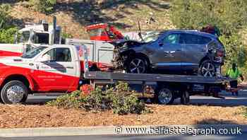 Tiger Woods car crash caused by excessive speed
