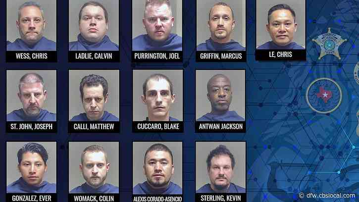 13 Men Arrested For Online Solicitation Of A Minor In Collin County
