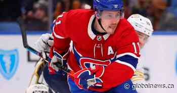 Montreal Canadiens suffer big blow with Gallagher likely out at least 6 weeks with injury