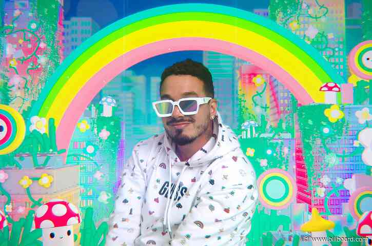 J Balvin Radiates Positivity for New Guess x FriendsWithYou Collection