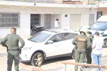 Asesinan a comerciante en su vehículo en zona céntrica de Planeta Rica - LA RAZÓN.CO