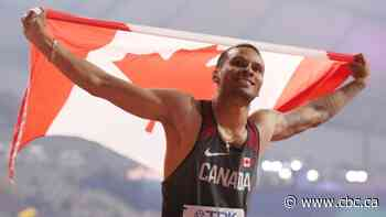 Andre De Grasse will miss World Relays with 2nd baby due next month