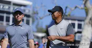 Rory McIlroy hofft nach Autounfall von Tiger Woods auf baldige Rückkehr - SPORT1