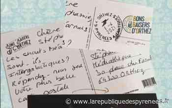 Les premières cartes de Bons Baisers d'Orthez - La République des Pyrénées