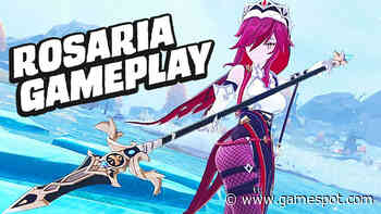 Genshin Impact Rosaria Gameplay