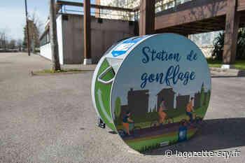 Trois stations pour gonfler les pneus de son vélo - La Gazette de Saint-Quentin-en-Yvelines