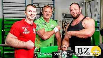 Das ZDF ist zu Gast bei Wolfsburgs Armwrestlern