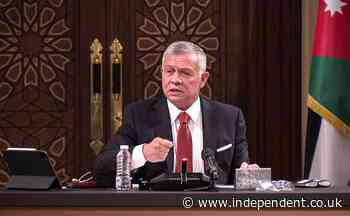 Jordan's King Abdullah speaks of 'shock and anger' after alleged coup