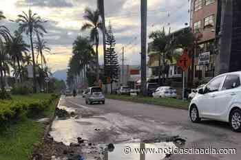 ICCU atenderá situación de la deteriorada Av. Las Palmas en Fusagasugá, Cundinamarca - Noticias Día a Día