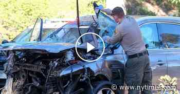 Tiger Woods Crash Was Caused by Speeding, Sheriff Says