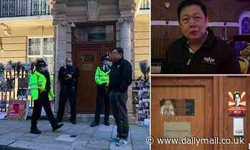 Myanmar's London embassy seized by loyalists of country's new military regime