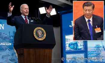 Joe Biden says US needs $2.3tn infrastructure bill because China is racing ahead