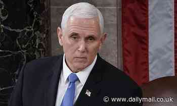 Mike Pence signs two-book deal for up to $4MILLION