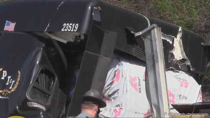 Truck Driver In Butler Co. Narrowly Avoids Death After 39,000-Pound Steel Coil Crashes Through Cab