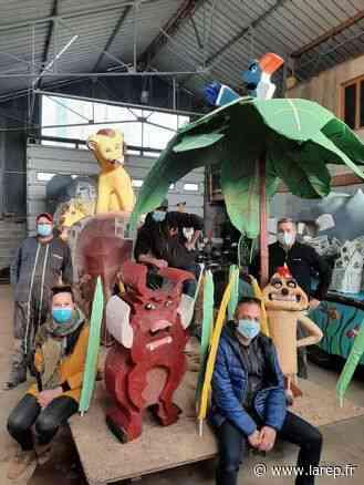Les chars du carnaval sont prêts à défiler - La République du Centre