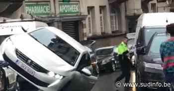 Spectaculaire accident avec délit de fuite ce mardi soir à Saint-Gilles (vidéo) - Sudinfo.be