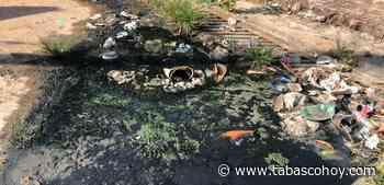 Un año viviendo con agua podrida en Tierra Colorada - tabasco hoy