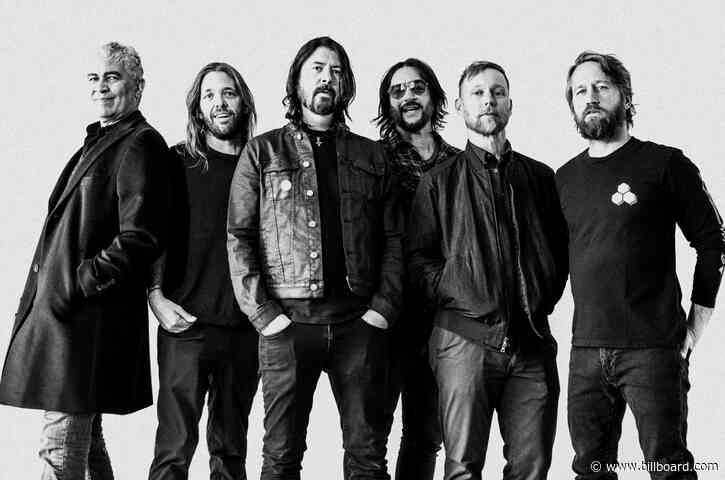 Foo Fighters Land Milestone 10th Mainstream Rock Airplay No. 1 With 'Waiting on a War'