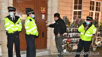 Myanmar ambassador locked out of London embassy